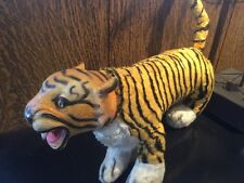 "Vintage LARGE 24"" Jee Bee Creations Tiger Stuffed Animal Plush"