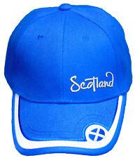 Scotland Cap 100% Cotton Bowlers Hats Adjustable Strap Baseball Cap Rugby Hat