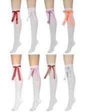 High Elasticity Girl Cotton Knee High Socks Uniform Flying Bat Women Tube Socks