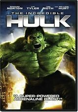 Incredible Hulk  DVD Edward Norton, Liv Tyler, Tim Roth, William Hurt, Tim Blake