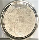 Zakhoder Antique Russian RARE Silver Salver/Platter -- Beautifully Polished!