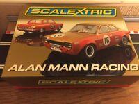 Scalextric Digital Alan Mann Racing L.E Ford Lotus Cortina & Ford Escort C2981