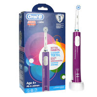 Oral-B Junior, elektrische Zahnbürste, Purple