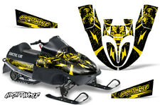 Arctic Cat Sno Pro 120 Sled Wrap Snowmobile Decal Graphics Kit 09-13 NIGHTWOLF Y