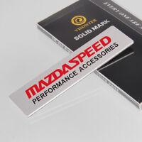 hinten Aufkleber Kotflügel Emblem Abzeichen MS Logo Autozubehör für Mazda 3 5 6