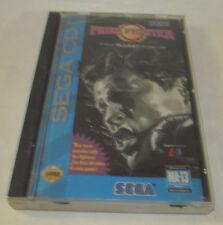 Prize Fighter (Sega CD, 1993) Complete CIB Both Discs Nice Shape Fun Game