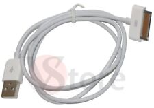 CAVO DATI USB PER IPHONE 4S 3G 3GS IPOD 4 TOUCH IPAD 2 BIANCO RICARICA PC