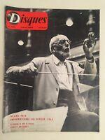 Revista Discos N º 128 Mars Ernest Ansermet 1962