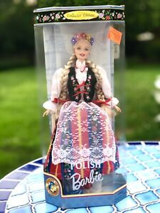 Barbie Dolls of the World Polish NRFB 1997 Collector Edition #18560 Poland