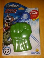 Avengers HULK's Smashing Challenge Mini Games with Sculpted Clip *SHIPS FREE!