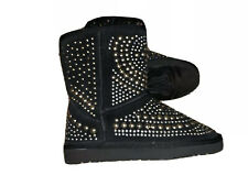 Women's BLACK BOOTS 5 New Detail On Boot Ug