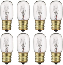 40 Watt Appliance Light Bulb, T8 Tubular Incandescen Light Bulbs, Microwave Oven