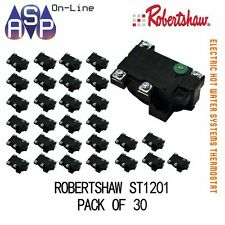 ELECTRIC HOT WATER THERMOSTAT - ROBERTSHAW ST1201 - SUITS ALL MAJOR BRAND - PK30