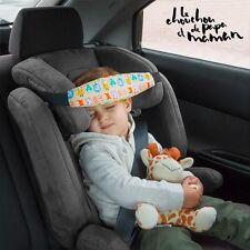 2 x Auto Kopf Sicherheitsgurt Stützgurt Baby Kindersitz Gurtpolster Nackenkissen