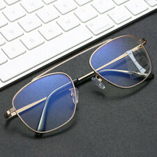 Fashion Metal Anti Blue Auto zoom Progressive Multifocal Reading glasses Gold