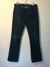 Earnest cucito Boot Cut Jeans Blu Scuro 28