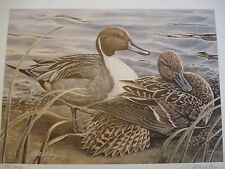 First of State Oklahoma Ducks Unlimited Print, Gerald Mobley, 74 of 700 12 x 14
