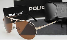 New men's polarized sunglasses Driving glasses Gold