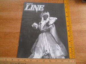 Disneyland Line Employee 1993 magazine V25 #26 Aladdin Show + feast invite