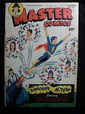 Master Comics 83 (G+; ins. cvrs. stained) FAWCETT, Golden Age comic (id# 15201)