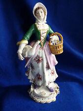Antique porcelain figurine – Chelsea ? Anchor mark – A/F – PK/24J