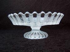 ancienne coupe compotier à fruits ou présentoir en cristal de Baccarat fin XIXe