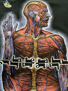 Vintage 2001 Tool T Shirt Lateralus Tour Concert Band Metal Size XL Maynard