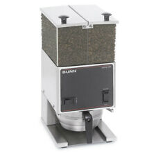 Bunn 26800.0000 Coffee Bean Grinder Two 3lb Hoppers Low Profile