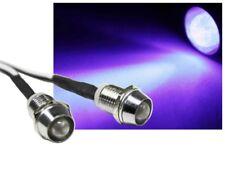 LED Spot Schraube Strahler Edelstahl 12V superhell 4000mcd uv ultraviolet