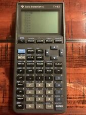 Texas Instrument TI-82 Scientific Graphing Calculator-No Cover Tested Works
