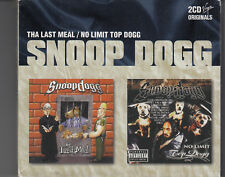 Snoop Dog : The Last Meal & No Limit Top Dogg 2CD in Slipcase FASTPOST