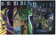 Aliens #1 - 6  Complete Set  avg. NM- 9.2  Dark Horse  1988  No Reserve