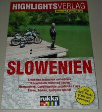 Motorrad Reiseführer Slowenien entdecken 10 Traumhafte Motorradtouren Buch Neu!