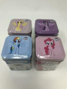 My Little Pony 4 In 1 Radz Candy Decorate Tin Stickers Blind Tins YOU CHOOSE!!