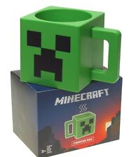 Minecraft  Tasse ** Creeper Gesicht ** Grün  Lizenzware  NEU&OVP