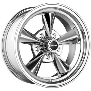 "Ridler 675 15x7 5x4.75"" +0mm Polished Wheel Rim 15"" Inch"