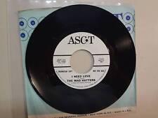 "MAD HATTERS:I Need Love 2:29-Blowin' In The Wind-U.S.7"" 65 Ascot Records 2197 DJ"
