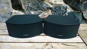 1 PAAR BOSE GS 3-2-1 Cinemate 321 II III * Satelliten Lautsprecher Gemstone