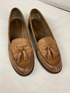 Tan Leather John Lewis Loafers Size 6