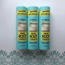 3 Loreal Paris Magic Root Cover Up Temporary Root Concealer Spray Light Blonde