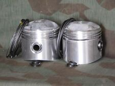 """61"""" OHV Cast Pistons.Wrist Pins, Locks, & Rings.  .050 Oversize. Made in Japan"""