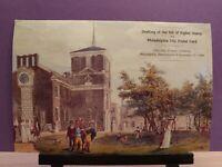 FIRST DAY OF ISSUE - USPS CEREMONY PROGRAM - PHILADELPHIA CITY POSTAL CARD
