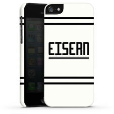 Apple iPhone 5 Premium Case Cover - Eisern 3 Union Berlin