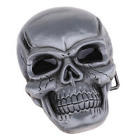Novelty Western Wear-resisting Skull Belt Buckle Clothing Jeans Jewelry
