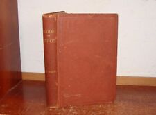 Old HISTORY CITY OF RIPON WI Book 1873 DAVID P MAPES REPUBLICAN PARTY BIRTHPLACE