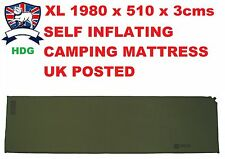 HIGHLANDER XL BASE SELF INFLATING SLEEPING ROLL MAT/BAG THERMALITE 3 Season LONG