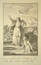 1791 Ovid Metamorphosen Ceres und Arethusa Kupferstich von Grüner