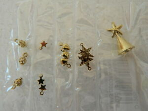 (X30) 1/12th scale DOLLS HOUSE PACK OF CHRISTMAS TREE DECORATIONS