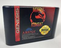 Mortal Kombat Sega Genesis Cartridge Only 1993 Arena Game Tested