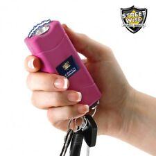 Streetwise Flashlight Stun Gun Rechargeable Pink 6 Million Volt Self Defense